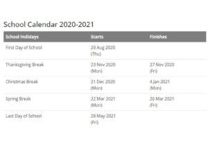 Boaz City School Calendar pdf