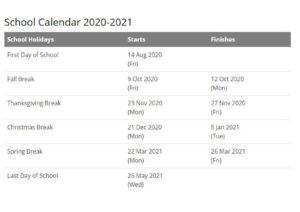 Dale County School Calendar pdf