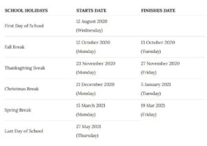 Hale County School Terms pdf