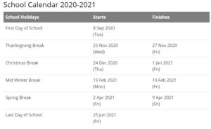 Brown University Academic Calendar