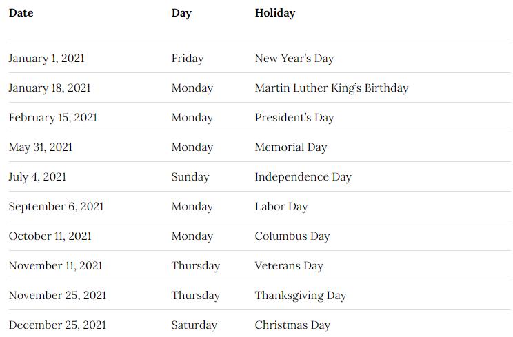 Elmore County School Calendar