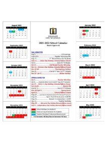 Hoover City School Calendar 1 pdf