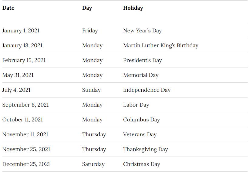 Auburn City School District Calendar